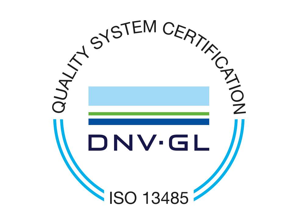 PCRBIO's ISO 13485 DNV-GL Logo